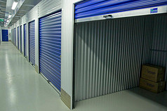 Storage warehouse.